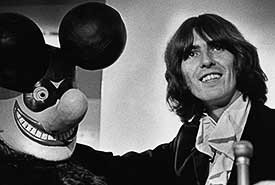George Harrison of the Beatles by Barrie Wentzell