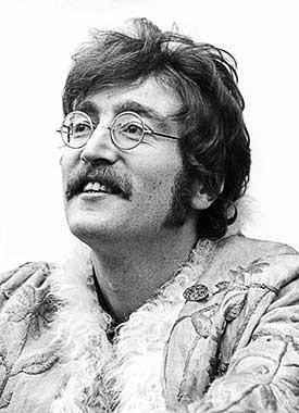 John Lennon of the Beatles by Barrie Wentzell