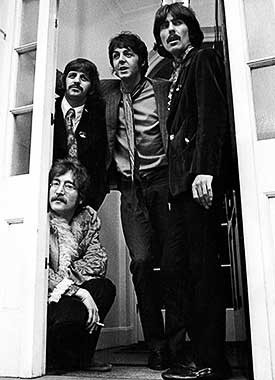 The Beatles by Barrie Wentzell