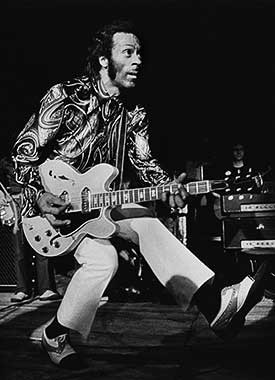 Chuck Berry by Barrie Wentzell