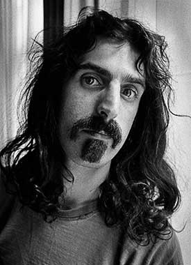 Frank Zappa by Barrie Wentzell