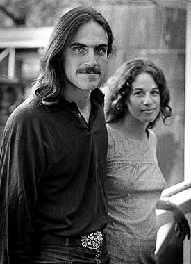 James Taylor by Barrie Wentzell