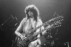 Jimmy Page of Led Zeppelin by Allan Tannenbaum