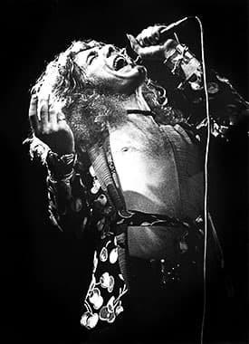 Robert Plant of Led Zeppelin by Gijsbert Hanekroot