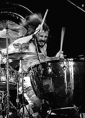 John Bonham of Led Zeppelin by James Fortune
