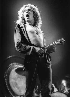 Robert Plant of Led Zeppelin by Neil Zlozower