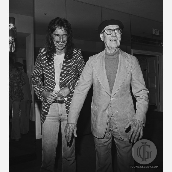Alice Cooper w/Groucho Marx by James Fortune