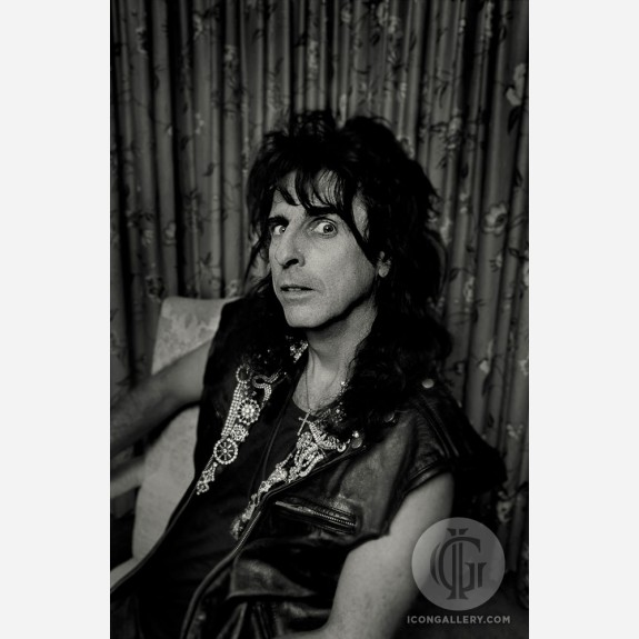Alice Cooper by Rick McGinnis