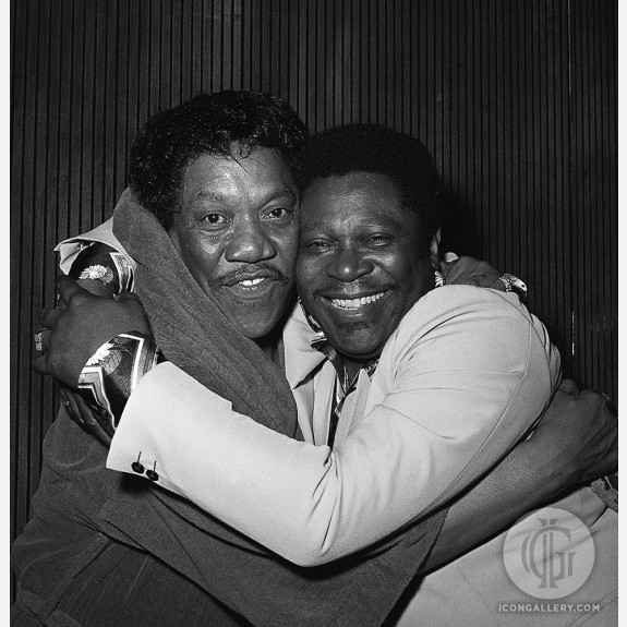 "B.B. King & Bobby ""Blue"" Bland by James Fortune"