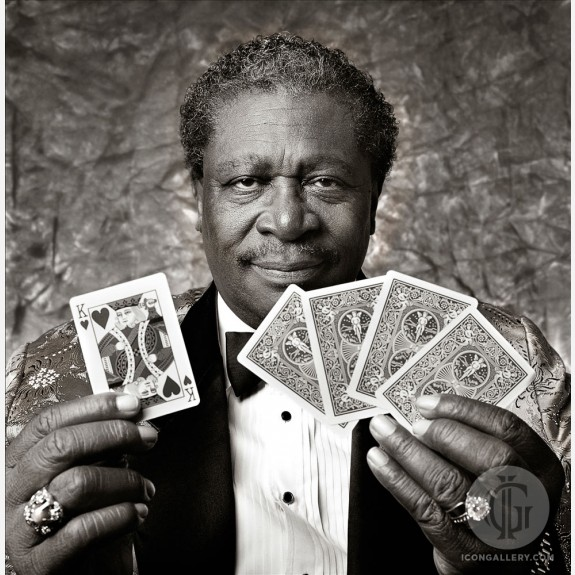 B.B. King by Ken Settle