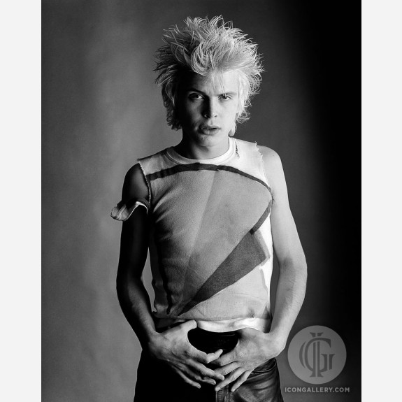Billy Idol by Gered Mankowitz