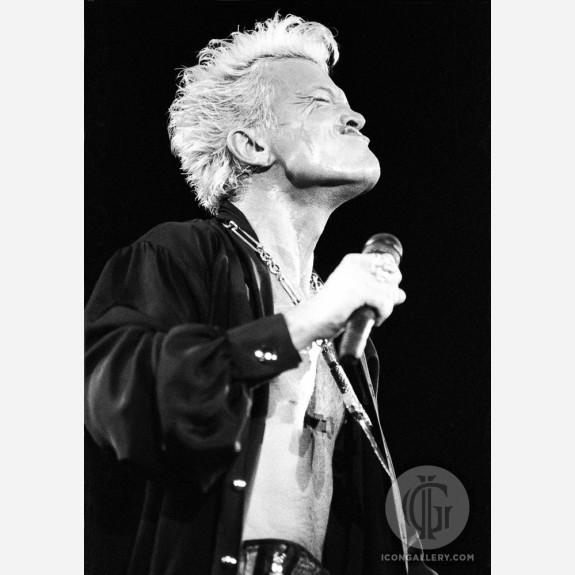 Billy Idol by Ian Dickson