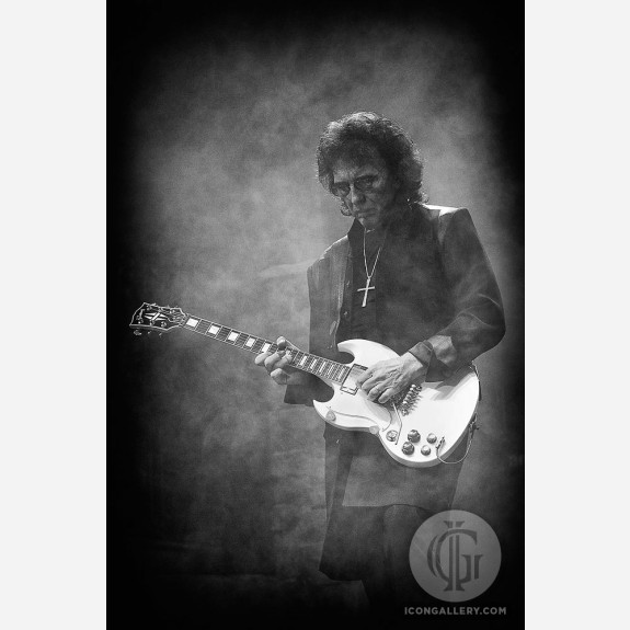 Tony Iommi of Black Sabbath by Jérôme Brunet