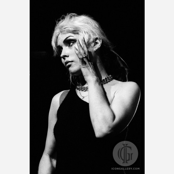 Debbie Harry of Blondie by Adrian Boot