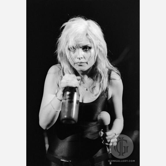Debbie Harry of Blondie by Allan Tannenbaum