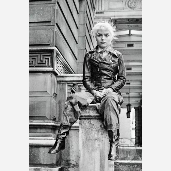 Debbie Harry of Blondie by Steve Emberton