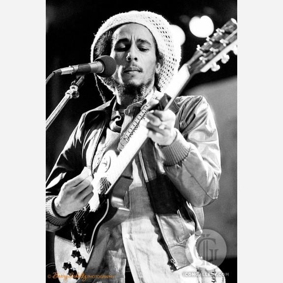 Bob Marley by Barry Schultz