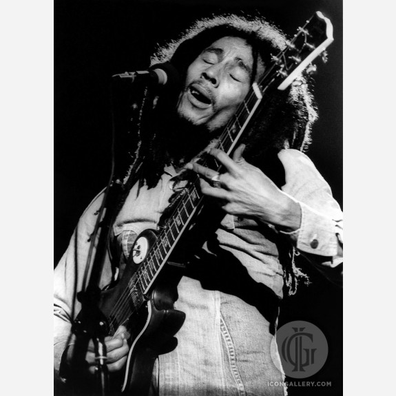 Bob Marley by Christian Rose