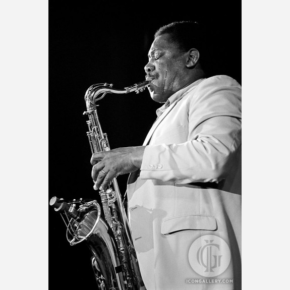 Clarence Clemons by Ebet Roberts
