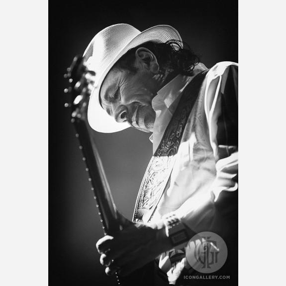 Carlos Santana by Jérôme Brunet