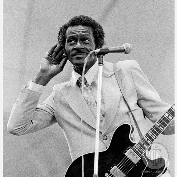 Chuck Berry by Adrian Boot