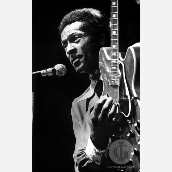 Chuck Berry by Christian Rose