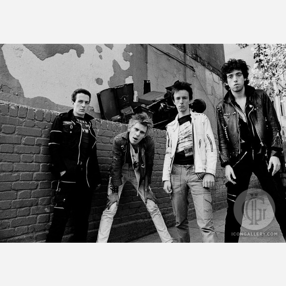 The Clash by Adrian Boot