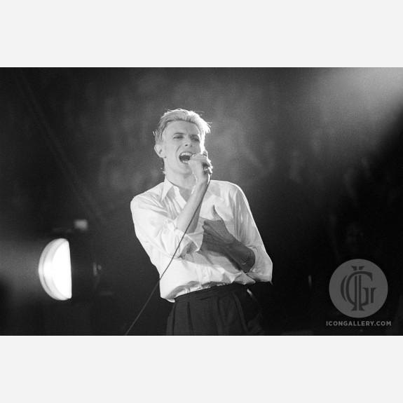 David Bowie by Allan Tannenbaum