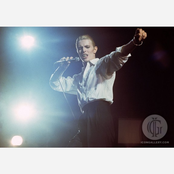 David Bowie by Gijsbert Hanekroot