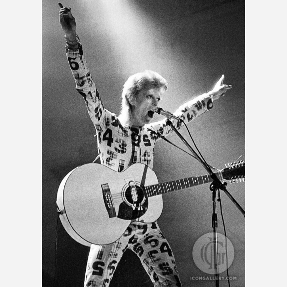 David Bowie by Ian Dickson