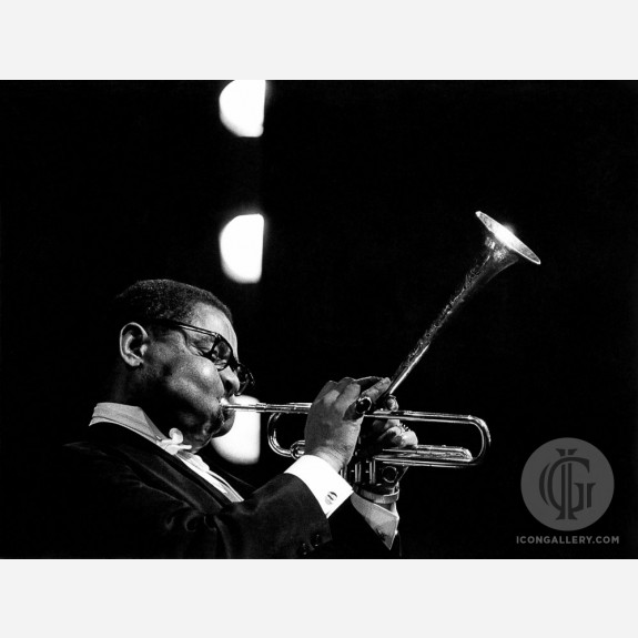 Dizzy Gillespie by Christian Rose