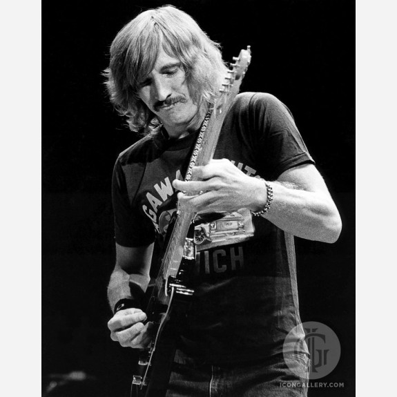 Joe Walsh of the Eagles by Ebet Roberts