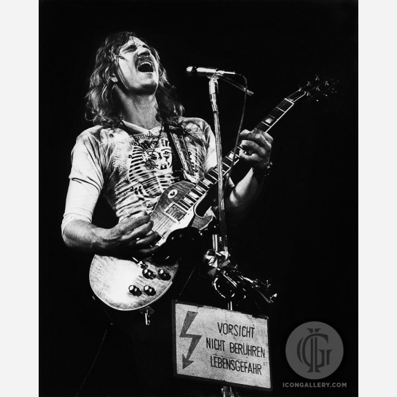Joe Walsh of the Eagles by Gijsbert Hanekroot