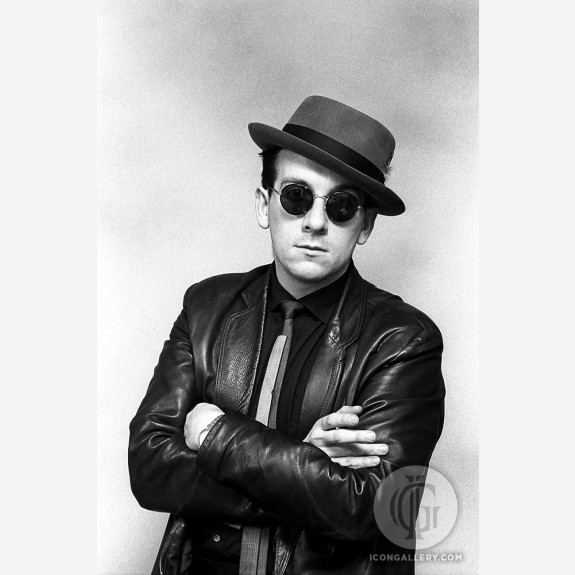 Elvis Costello by Ebet Roberts