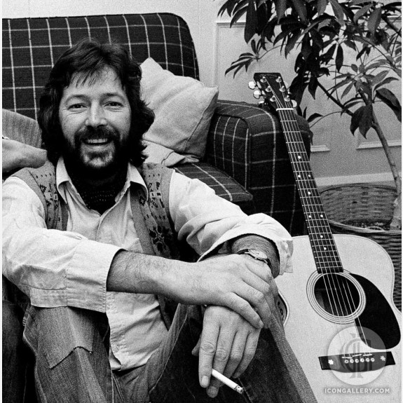 Eric Clapton by Adrian Boot