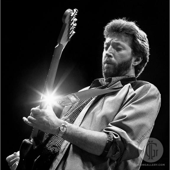 Eric Clapton by Ken Settle