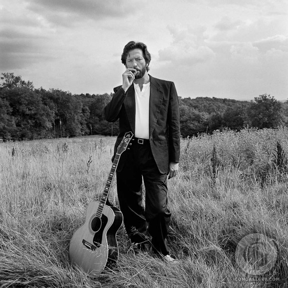 Eric Clapton by Terry O'Neill