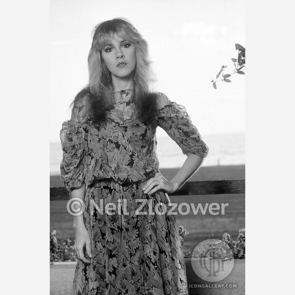 Stevie Nicks of Fleetwood Mac by Neil Zlozower