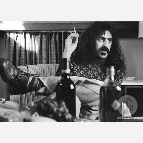 Frank Zappa by Gijsbert Hanekroot