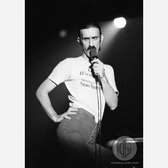 Frank Zappa by Ian Dickson