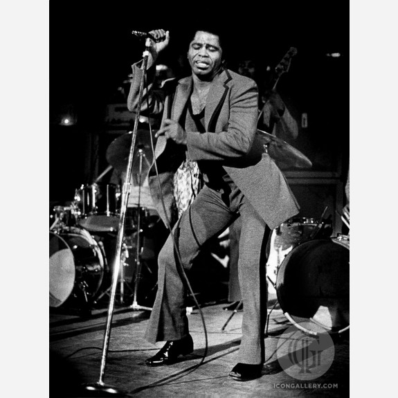 James Brown by Barrie Wentzell