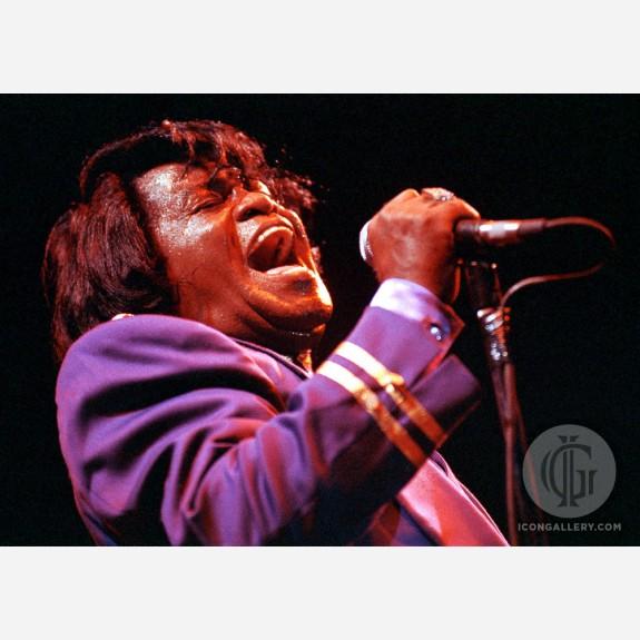 James Brown by Ian Dickson