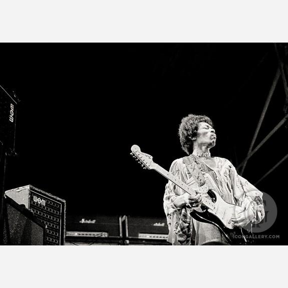 Jimi Hendrix by Peter Sanders