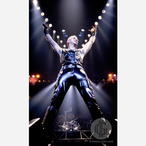 Rob Halford of Judas Priest by Al Rendon
