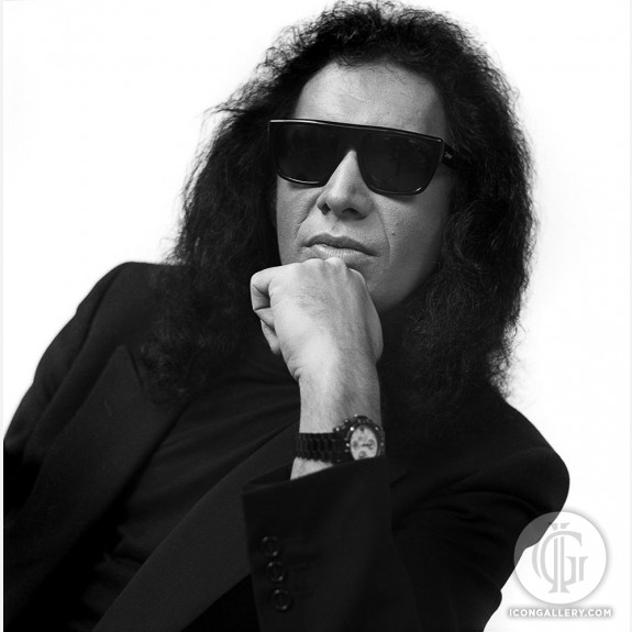 Gene Simmons of Kiss by Rick McGinnis