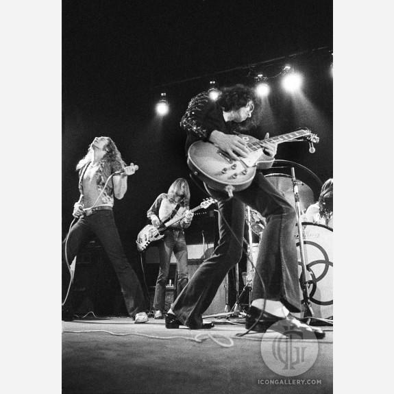 Led Zeppelin by Barrie Wentzell