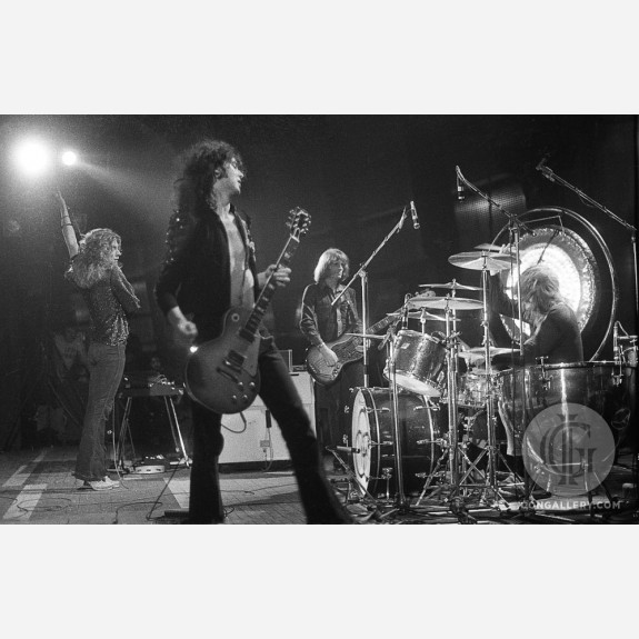 Led Zeppelin by Barrie Wentzell