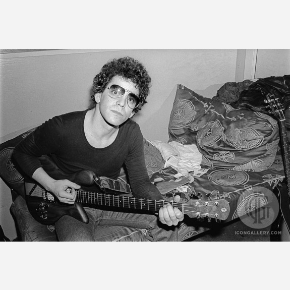 Lou Reed by Allan Tannenbaum