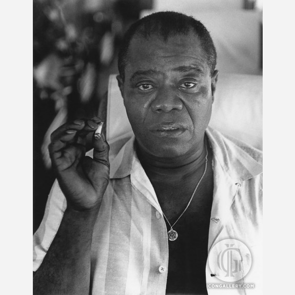 Louis Armstrong by Herb Snitzer