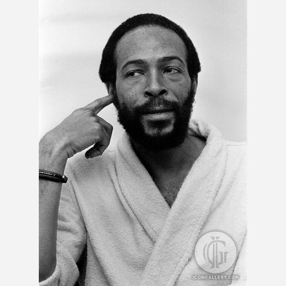 Marvin Gaye by Adrian Boot